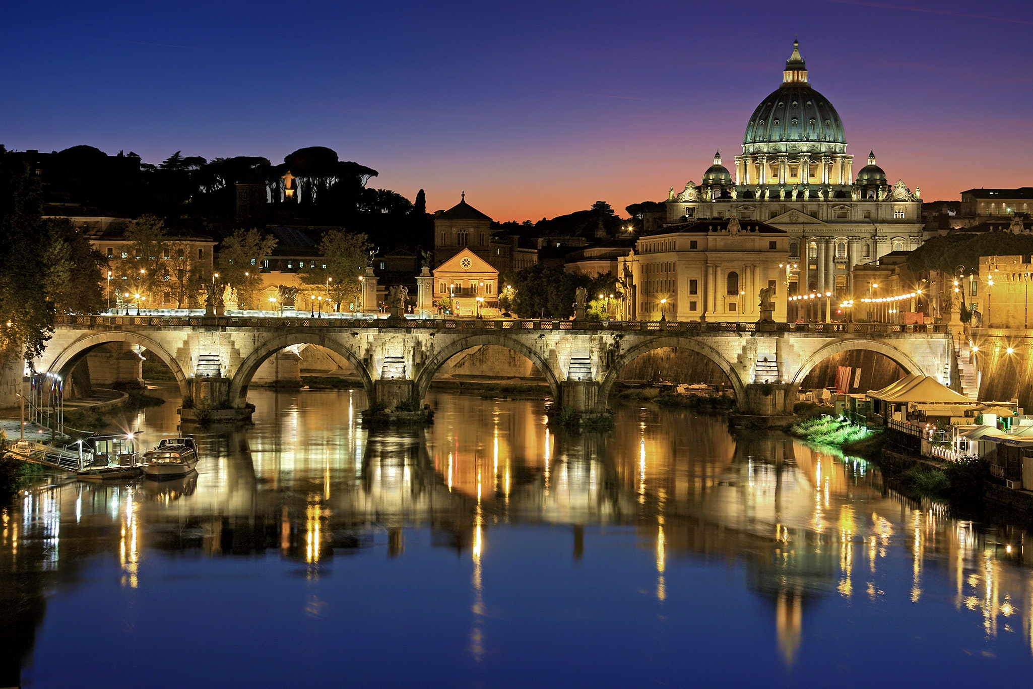 Photo of Rome, by Julius Silver in Pexels